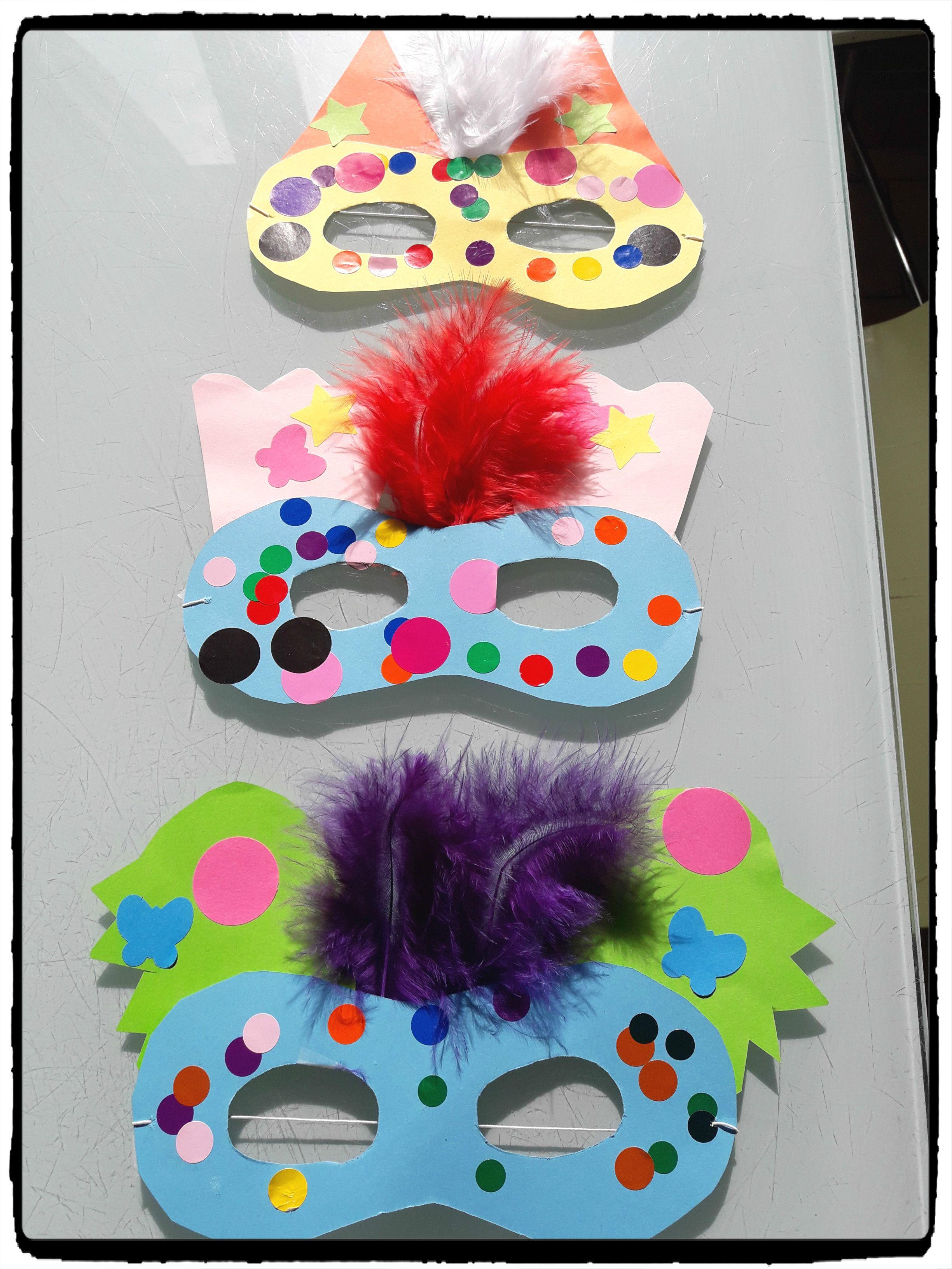 masques de carnaval enfant
