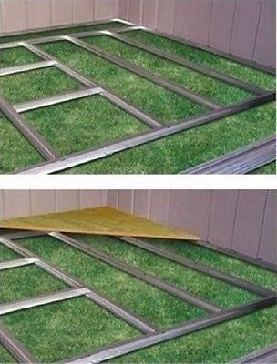 Shed Floor Frame Kit Garden Yard Tool Arrow Storage Building ...