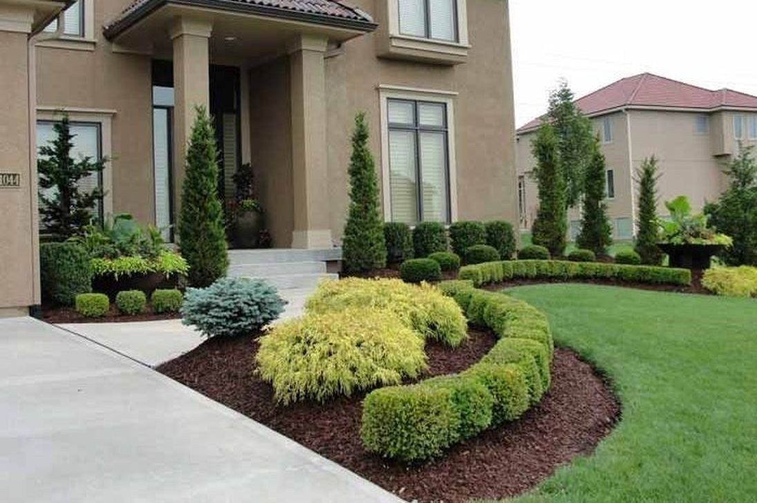 59 Awesome Front Yard And Backyard Landscaping Design Ideas Home Decor Diy Design Awe Front Yard Landscaping Design Rock Garden Design Landscaping With Rocks