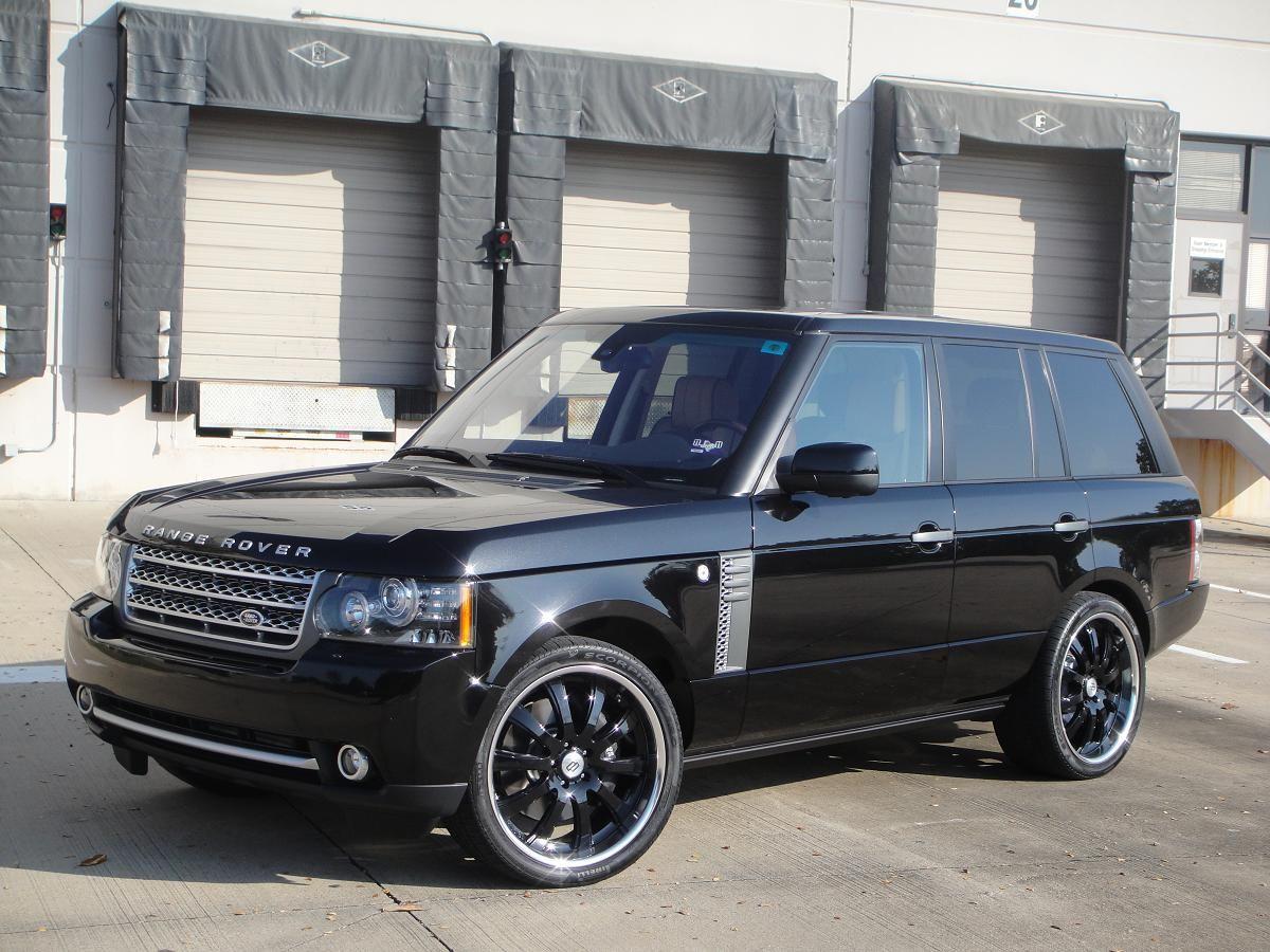 Dreamcar Rangeroverblackonblack Range Rover Black Range Rover Supercharged Range Rover