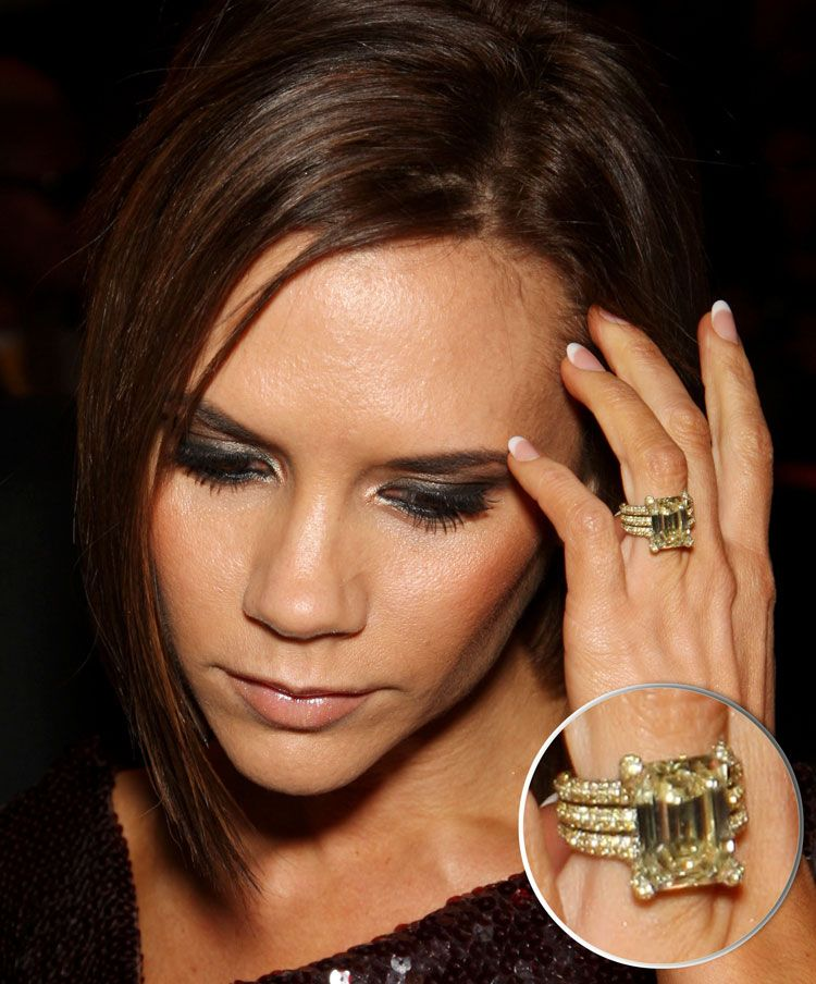 Victoria Beckham Engagement Ring Google Search