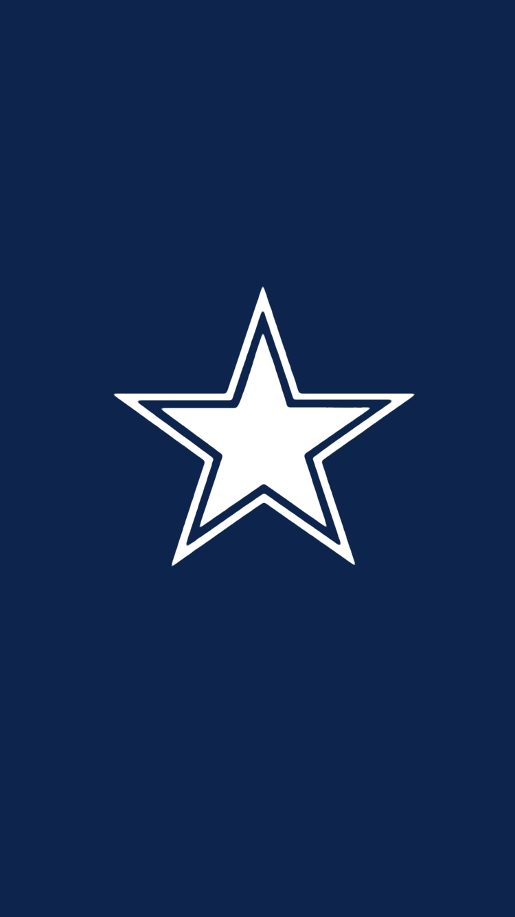 """Minimalistic"" NFL backgrounds (NFC East) Dallas cowboys"