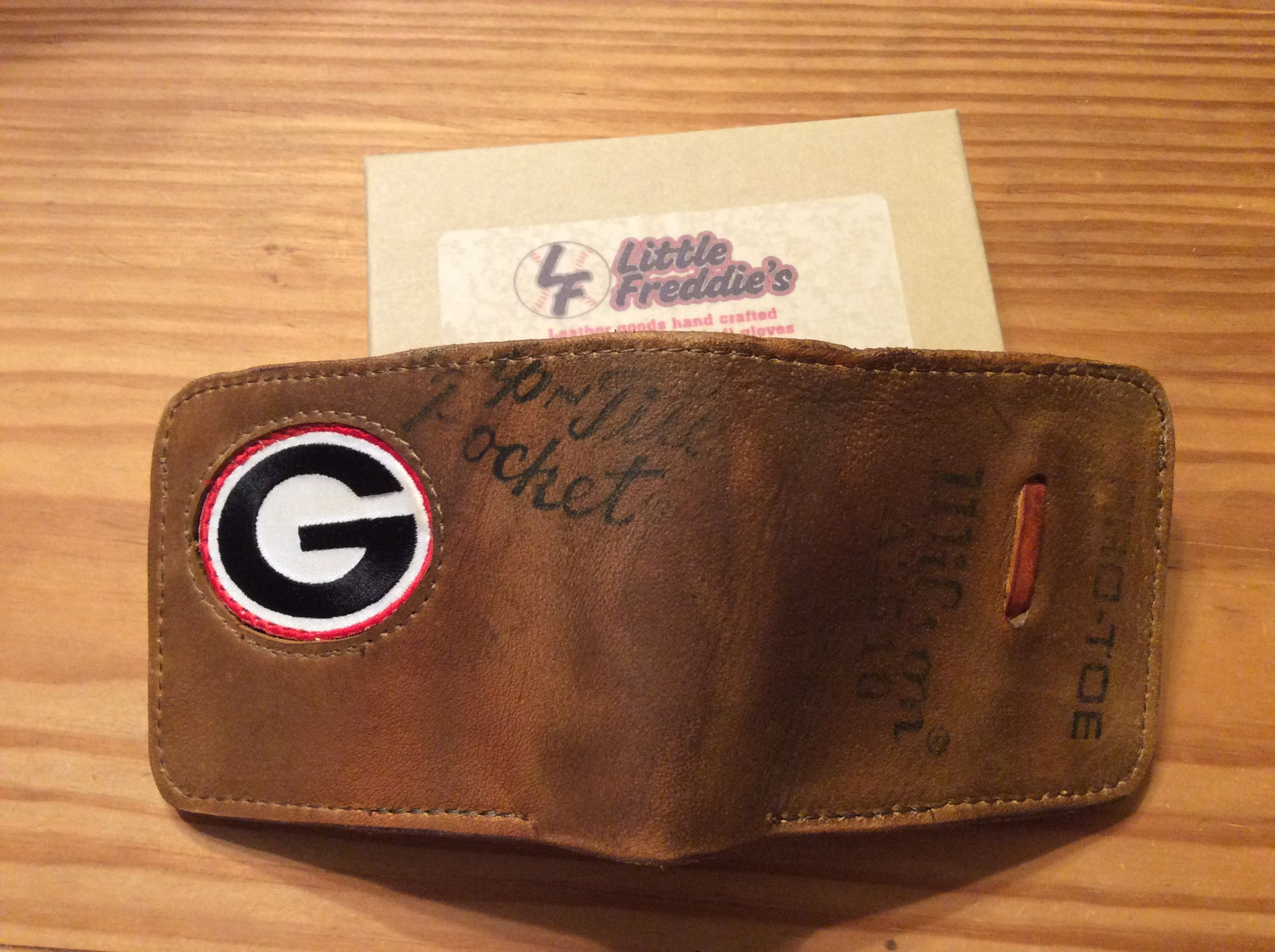 Players Wallet Georgia Bulldogs