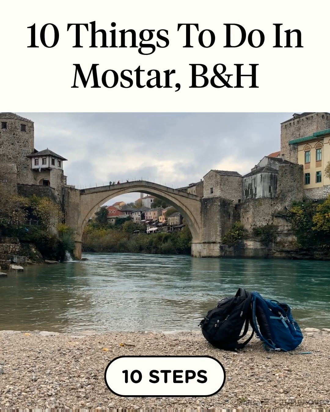 10 Things To Do In Mostar, B&H in 10 steps #jumpropecreators #madeonjumprope #jumpropeapp #jumprope #mostar #travelideas #culturaltrip #traveltour #travelguide #adventure #travel #traveldestinations #traveltips #travelhacks #solotravel #travelguide #traveltour #tourism