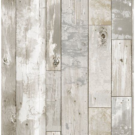 Peel And Stick Wallpaper Walmart.Driftwood Peel Stick Wallpaper Walmart Com Diy Wood