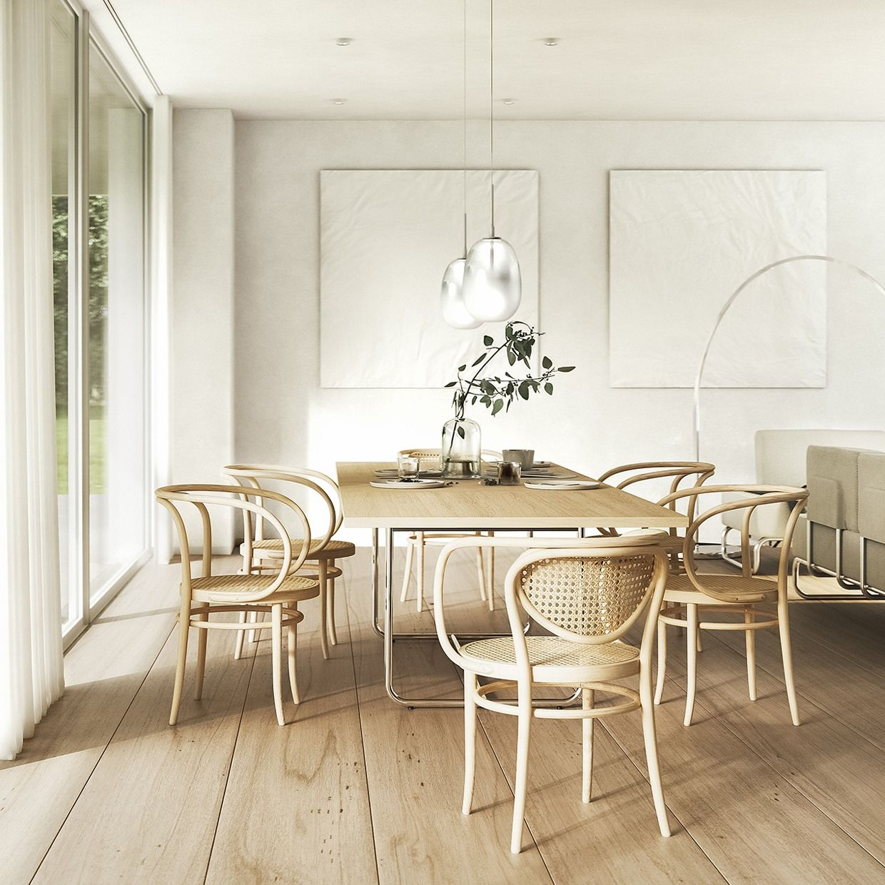 Thonet Campaign Icons Of Thonet Dining With Dining Room Interiors Contemporary Furniture Design Contemporary Table