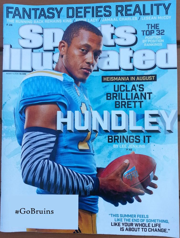 8/04/2014 Sports Illustrated. UCLA!! GoBruins Sports