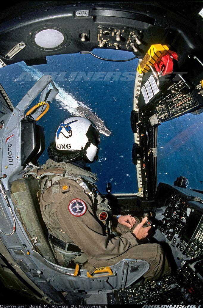 Lockheed S-3B Viking Cockpit (Jose M. Ramos de Navarrete)