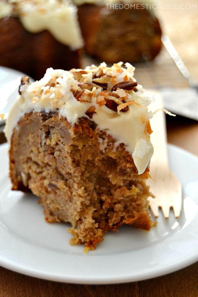 Hummingbird Bundt Cake Recipe Cream Cheese Glaze