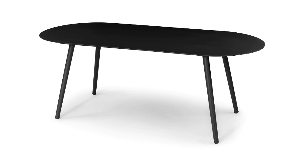 Ballo Oval Dining Table In 2020 Oval Table Dining Modern Outdoor Dining Table Scandinavian Dining Table