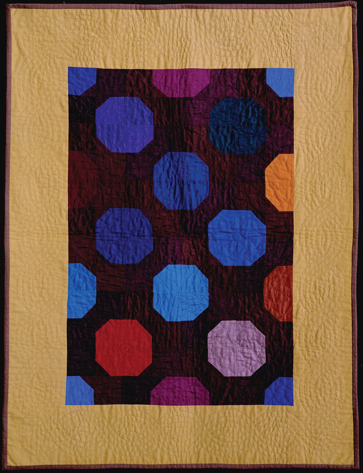 Bow tie quilt, L. Miller, 1983. World Quilts: The American ...