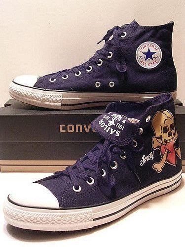 3272a9589a6f Sailor Jerry Converse