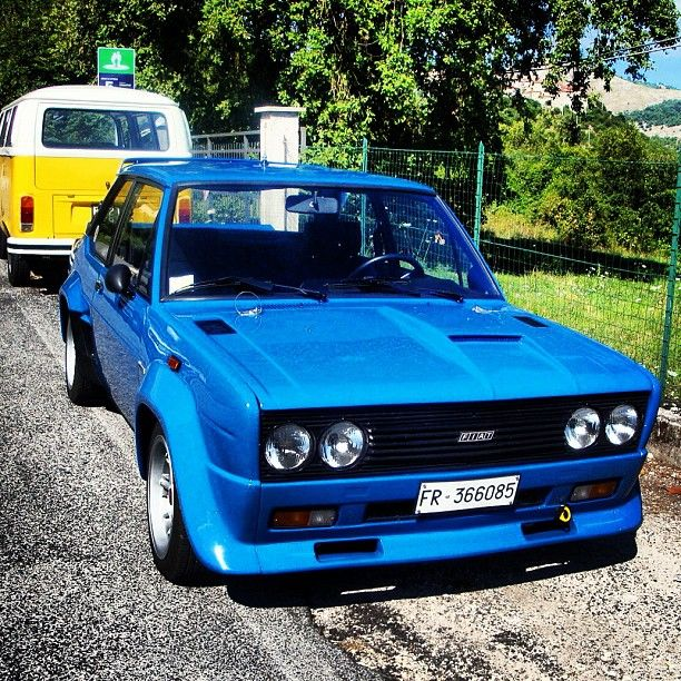Fiat 131 Abarth With Images Fiat Cars Fiat Fiat Chrysler