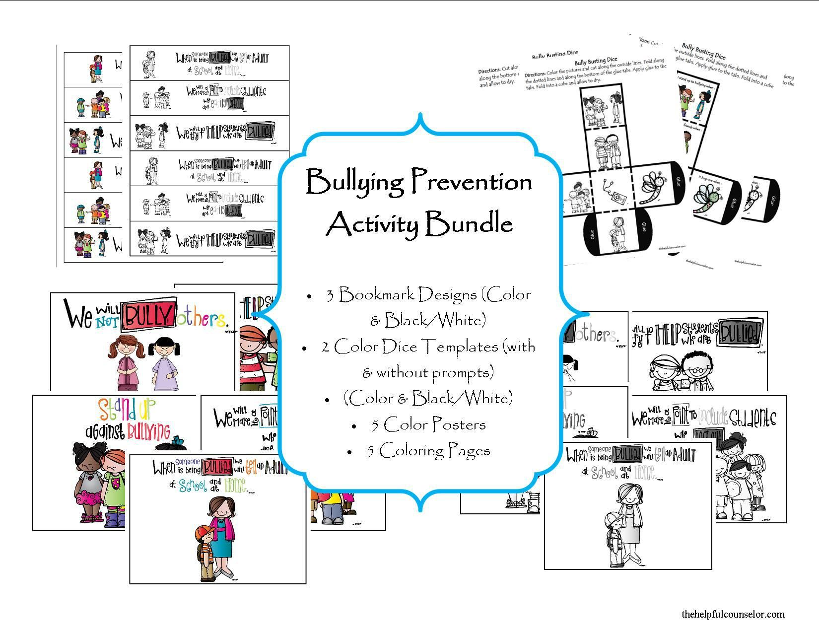 Bullying Prevention Activity Bundle
