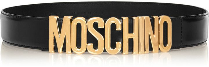 f6fef976bc Moschino Olivia Embellished Patent-Leather Belt | accesorize ...