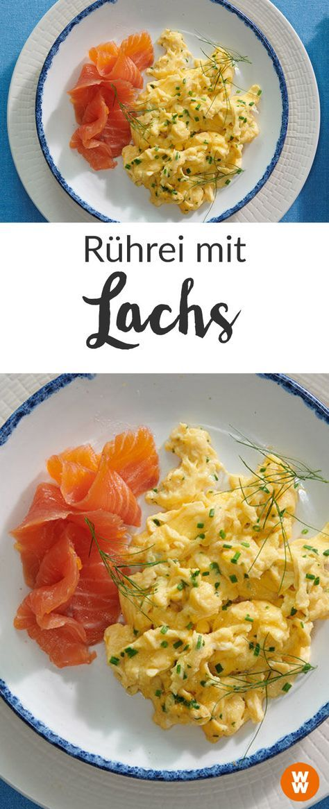 Photo of Scrambled Eggs with Chives and Smoked Salmon Recipe | WW Germany