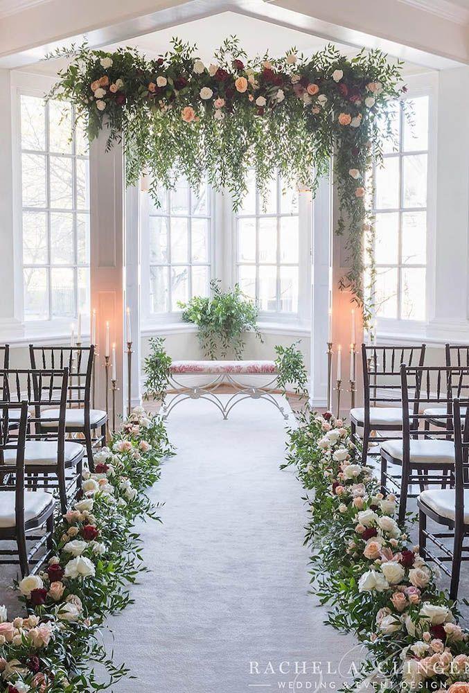 33 Awesome Wedding Flower Decoration Ideas Wedding Flower Decorations Wedding Ceremony Flowers Ceremony Flowers