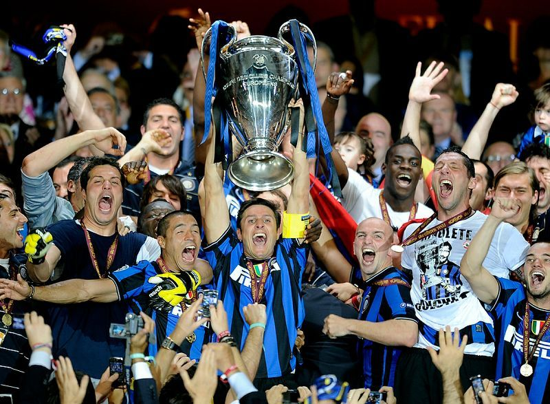 Inter Milan. Champions League Winners. 2010. Squadra di