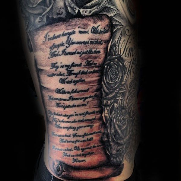 Scroll Tattoos