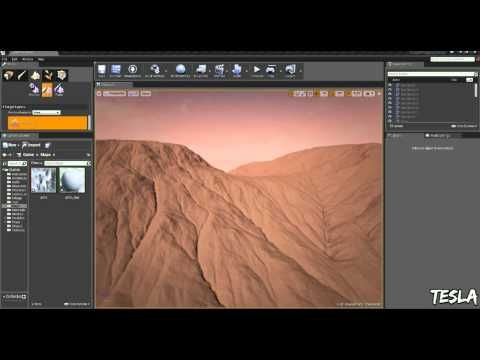 Unreal Engine 4 - Import Heightmap (With Download) - YouTube