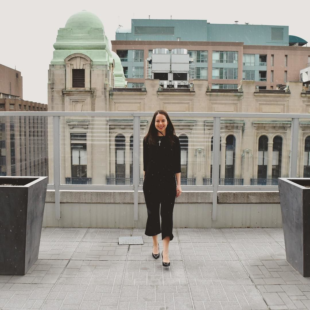 Snowy Rooftop Photoshoot At @onekingwest!