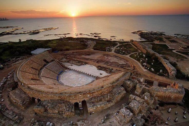 Roman amphitheater at Caesarea