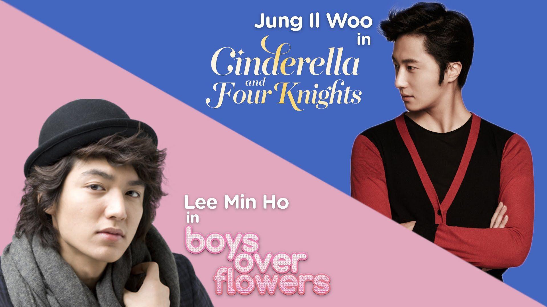 FLOWER BOY FACE OFF #1: Lee Min Ho vs Jung Il Woo!