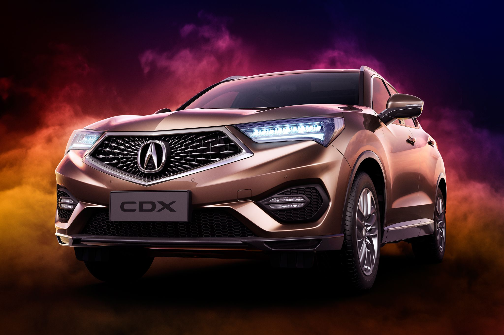 China Only Acura Cdx Bows At Beijing Auto Show A Crossover With