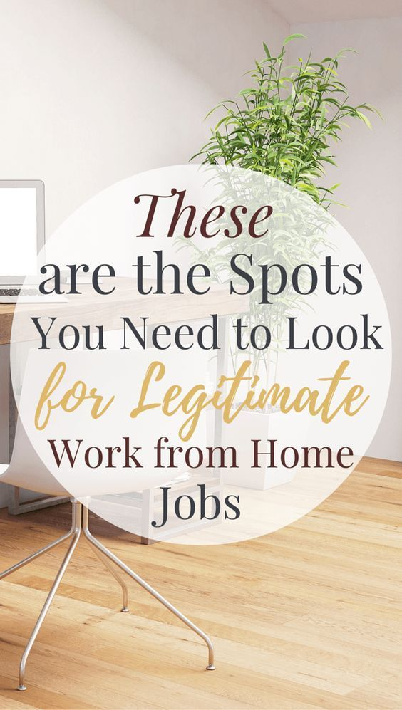 Search These Sites For Legitimate Work From Home Jobs Legitimate