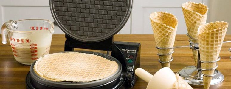 Waffle Cone Maker and Holder