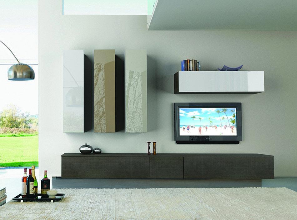 Bimax Mobili ~ Modern italian wall unit velvet by artigian mobili
