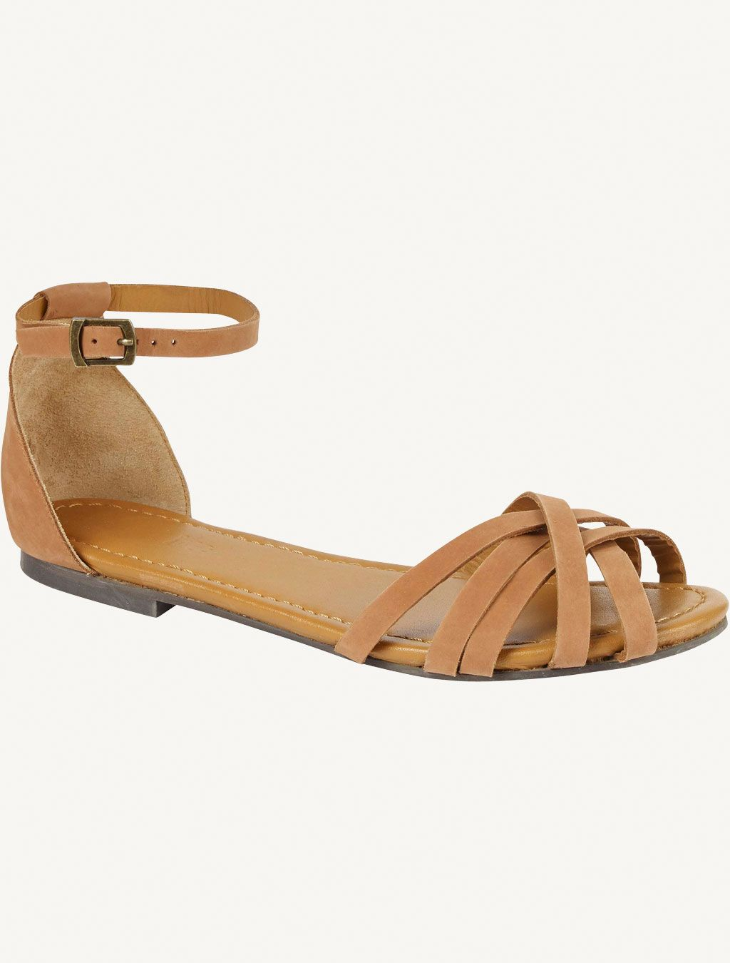 608dfe1728760 cute brown sandals from Fat Face