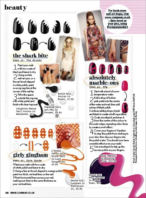 "The Illustrated Nail - ""Trending Talons"" Company Magazine, March ..."