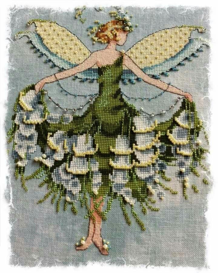 Chart Counted Cross Stitch Pattern Needlework DIY Sleeping Beauty Enchanting