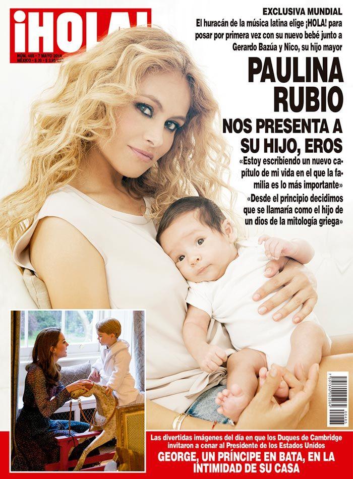 EXCLUSIVA MUNDIAL en ¡HOLA!: Paulina Rubio nos presenta a ...