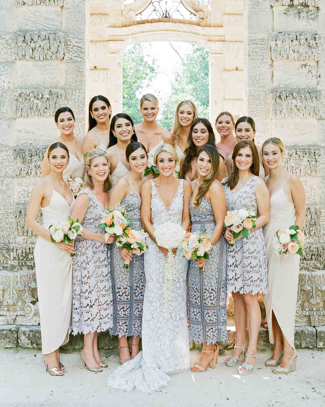 A cuban and texan inspired wedding weekend in miami martha click through to see our picks of modern bridesmaid dresses long short mismatched and everything in between ombrellifo Gallery