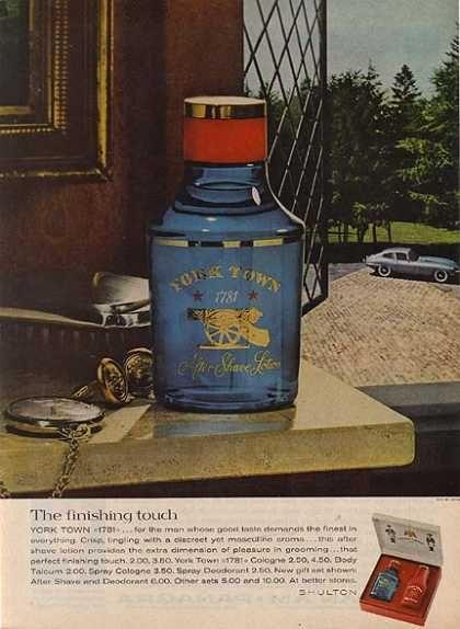 Vintage cologne ad (1963)
