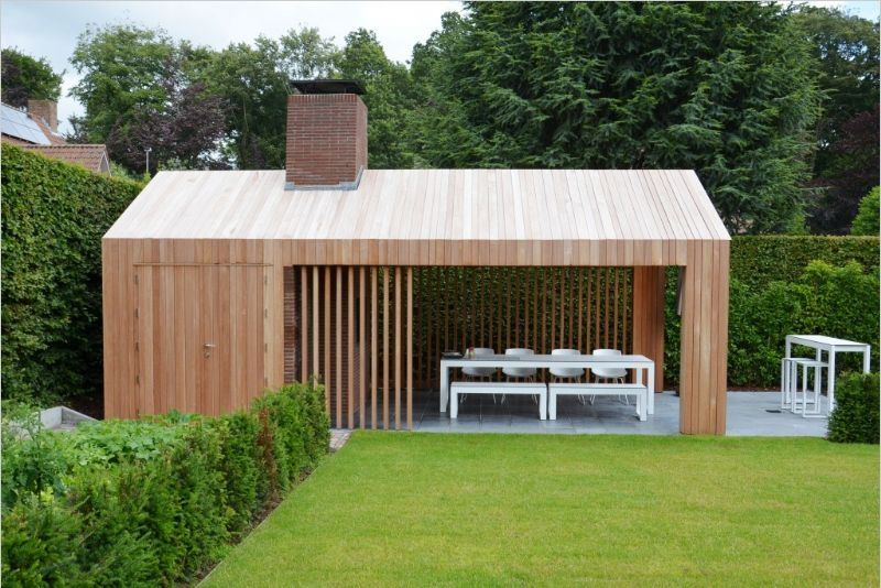Studio verde tuniarchitect berwout dochy houten trap modern pinterest - Moderne landschapsarchitectuur ...