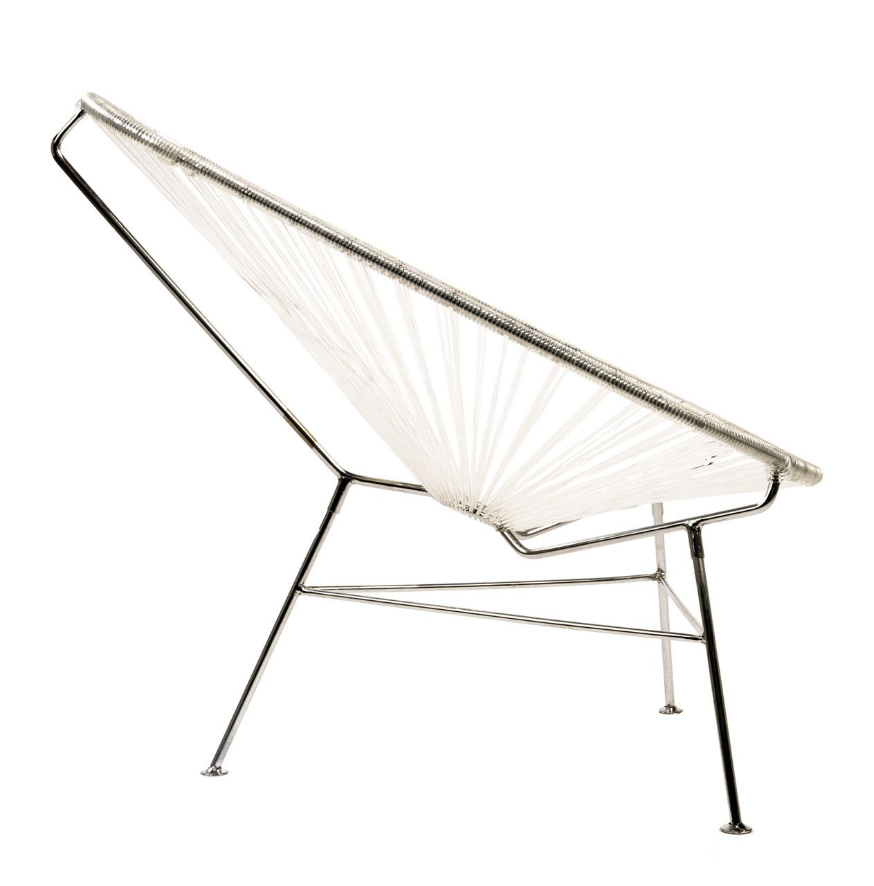 Acapulco chair dimensions - Acapulco Chair Chrome 3