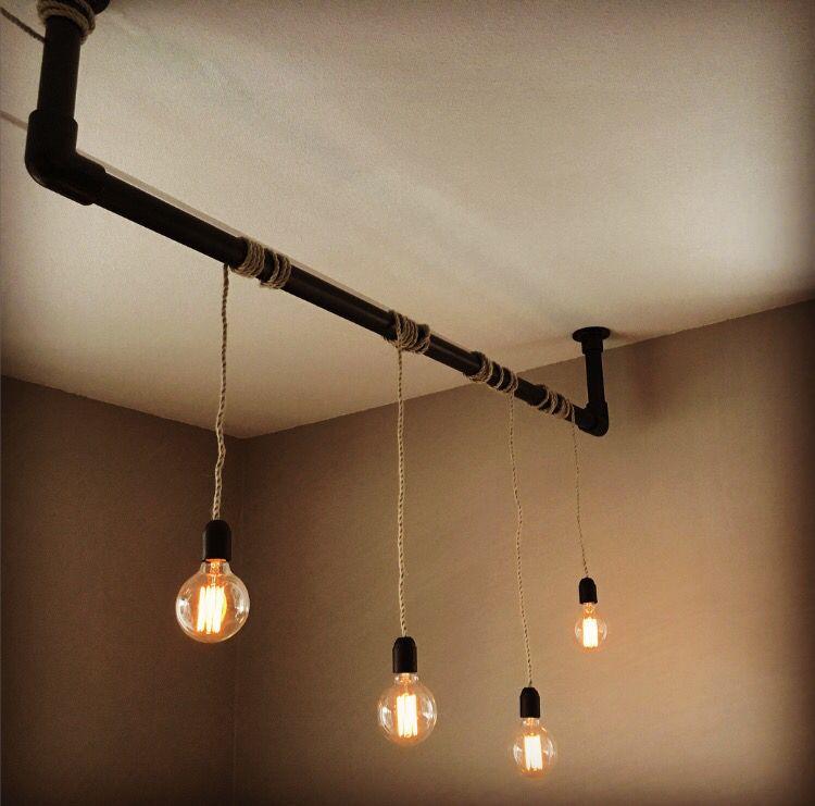 diy steigerbuis snoerboer hanglamp selfmade trots op onze