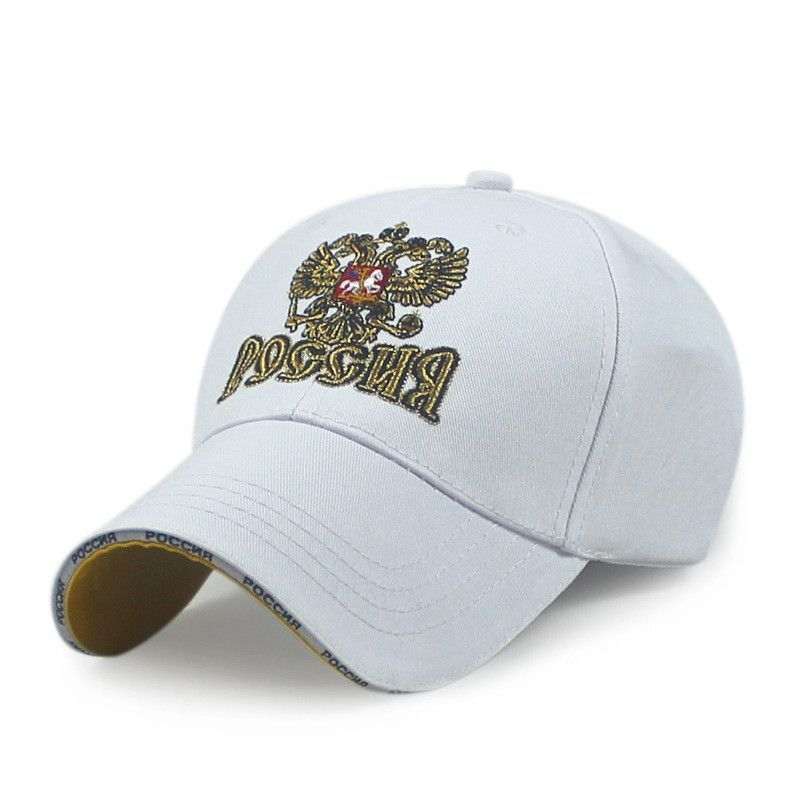 8e12605395e 2016 New Russia sport Baseball Cap Fashion 100%Cotton Russian Federation  men women cap hat ...