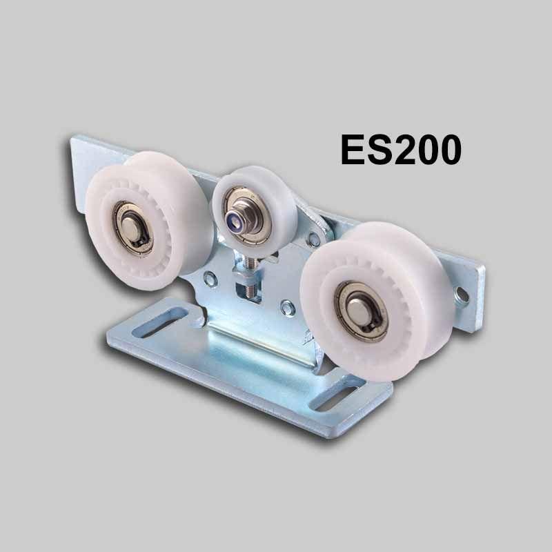 Es200 Carriage Trolley Hang Wheel Roller Door Connection Sanway Technology Roller Doors Automatic Sliding Doors Sliding Doors