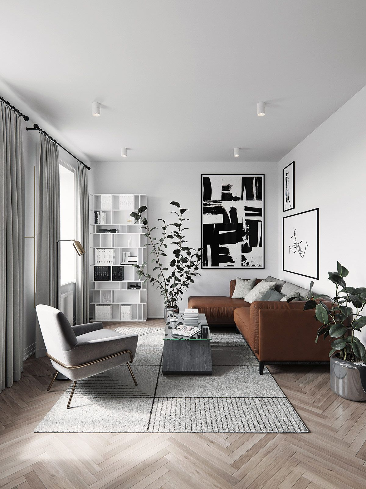 3 Homes Inspired By Different Takes On Nordic Interior Design Themes Modern Apartment Decor Apartment Interior Interior Design Living Room