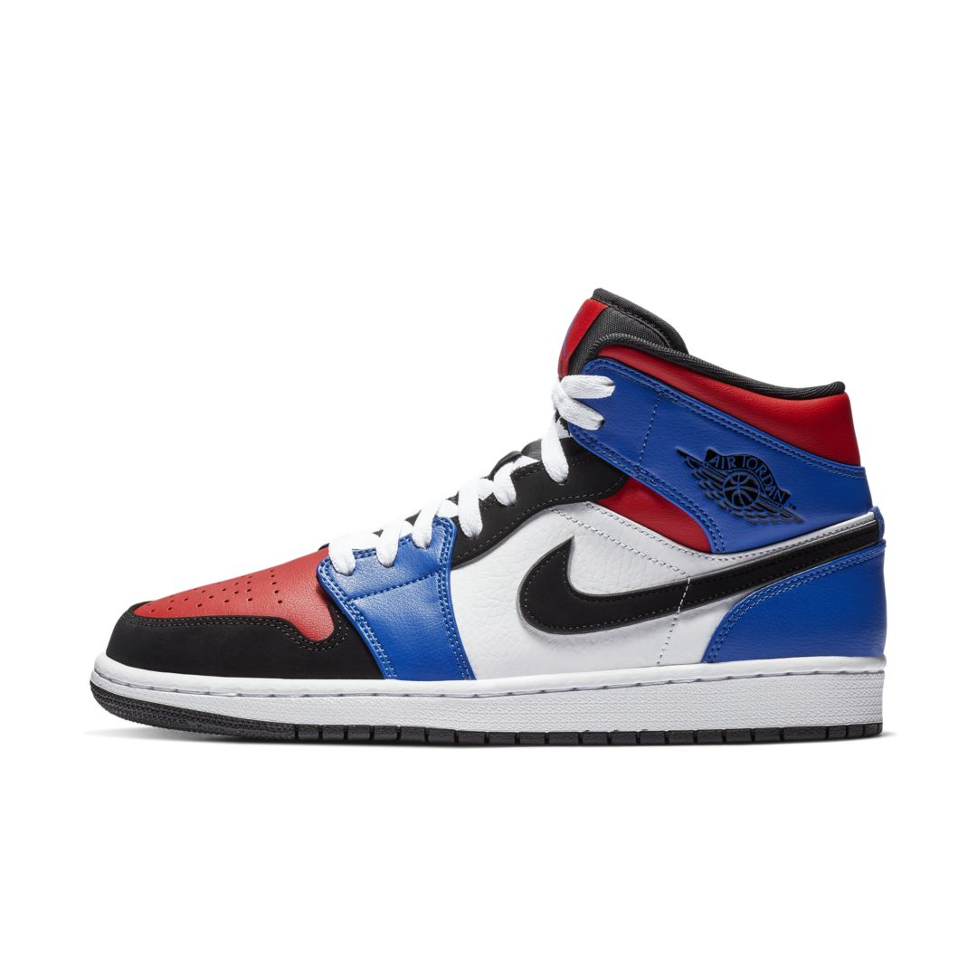 super popular 61c99 dcdad Air Jordan 1 Mid Men s Shoe Size 10.5 (White)