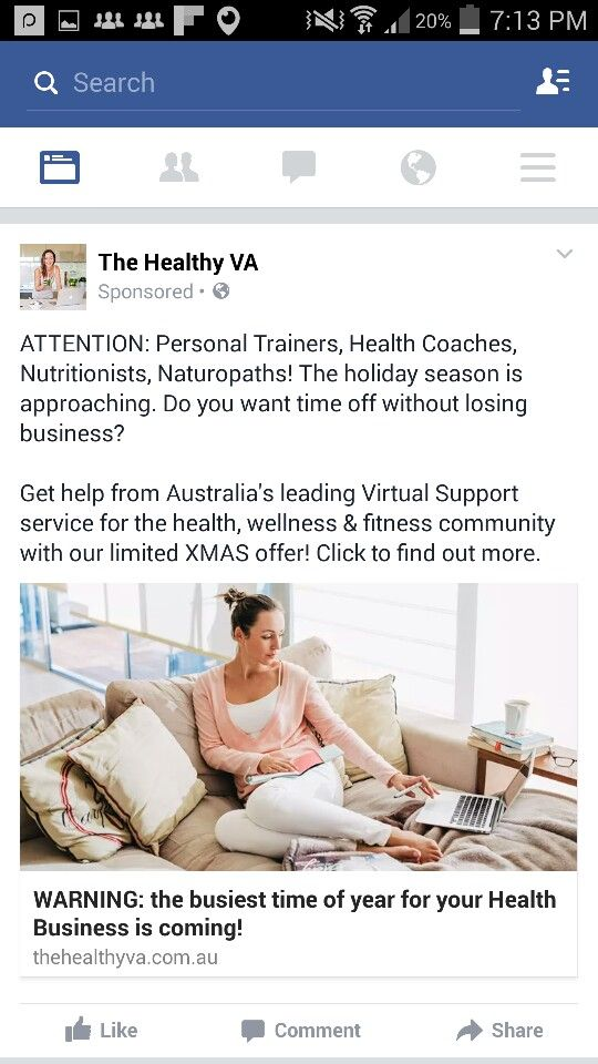 Health Coaches Ad