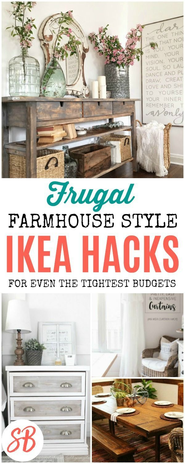 20 fantastic farmhouse style ikea hacks ikea hack diy on garage organization ideas that will save you space keeping things simple id=45762