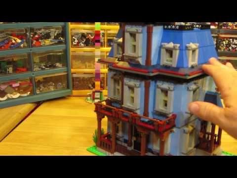 Custom Lego House, Maryville Lego City, Sept. 4, 2016 - YouTube