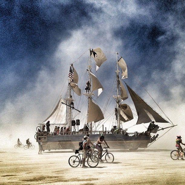 Ship   Burning Man