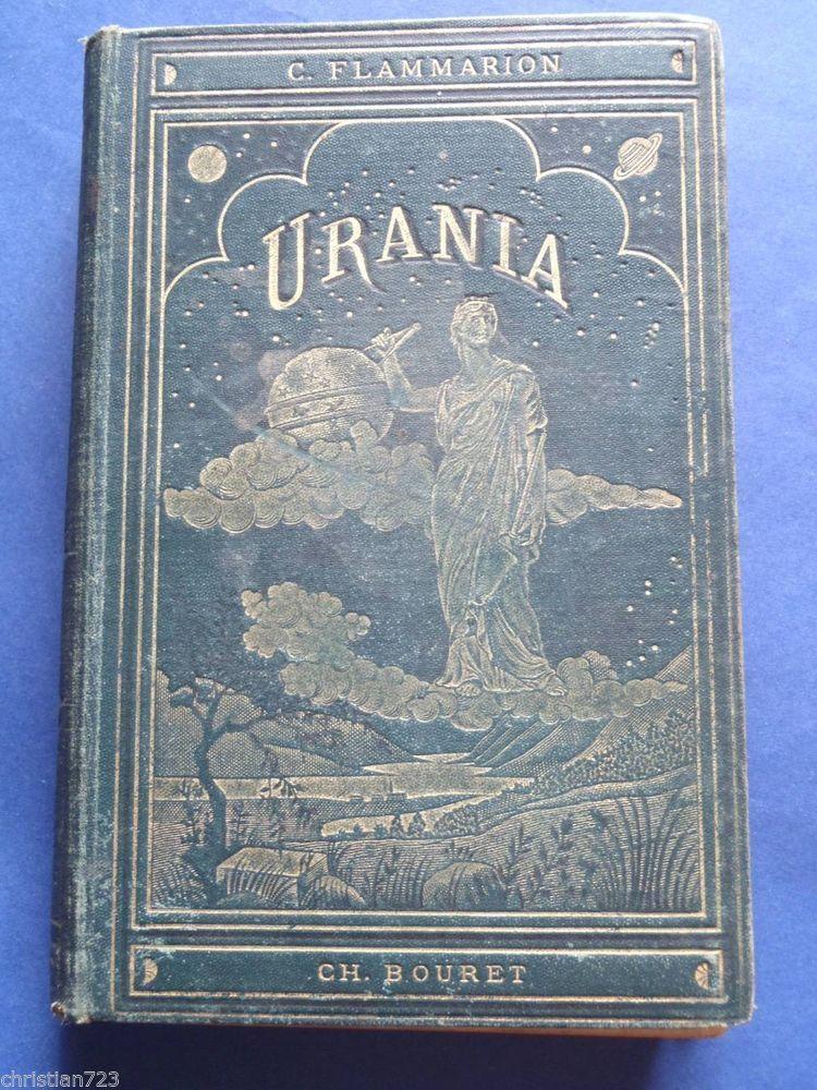 1890 URANIA - CAMILO FLAMMARION - ILLUST MYRBACH GAMBARD Ed BOURET 1st SPANISH