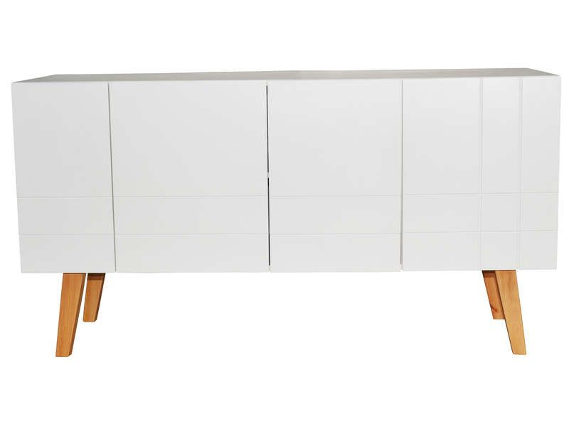Buffet London Coloris Blanc Vente De Buffet Bahut Vaisselier Conforama Buffet Vaisselier Meuble Bas